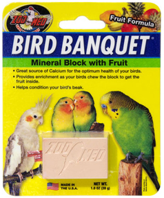 Bird Banquet Block - Fruit - 1oz