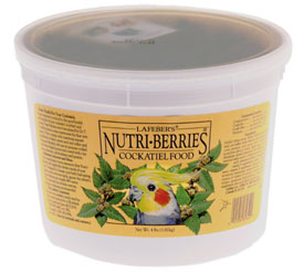 Classic Nutri-Berries - Cockatiel - 4lb