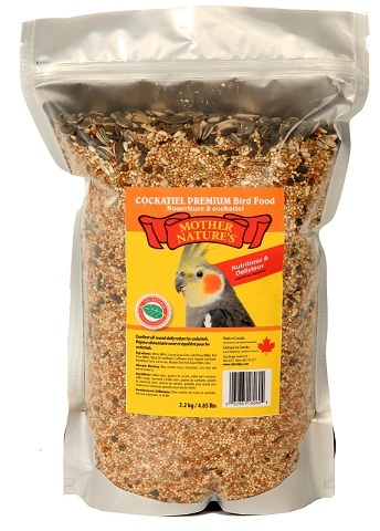 Chin Ridge Cockatiel Premium (With Sunflower Seeds) - 2.2kg