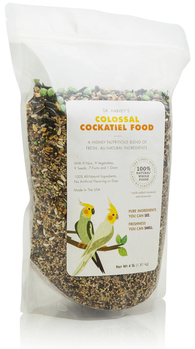 Colossal Cockatiel Food - Dr. Harvey's - 2lb