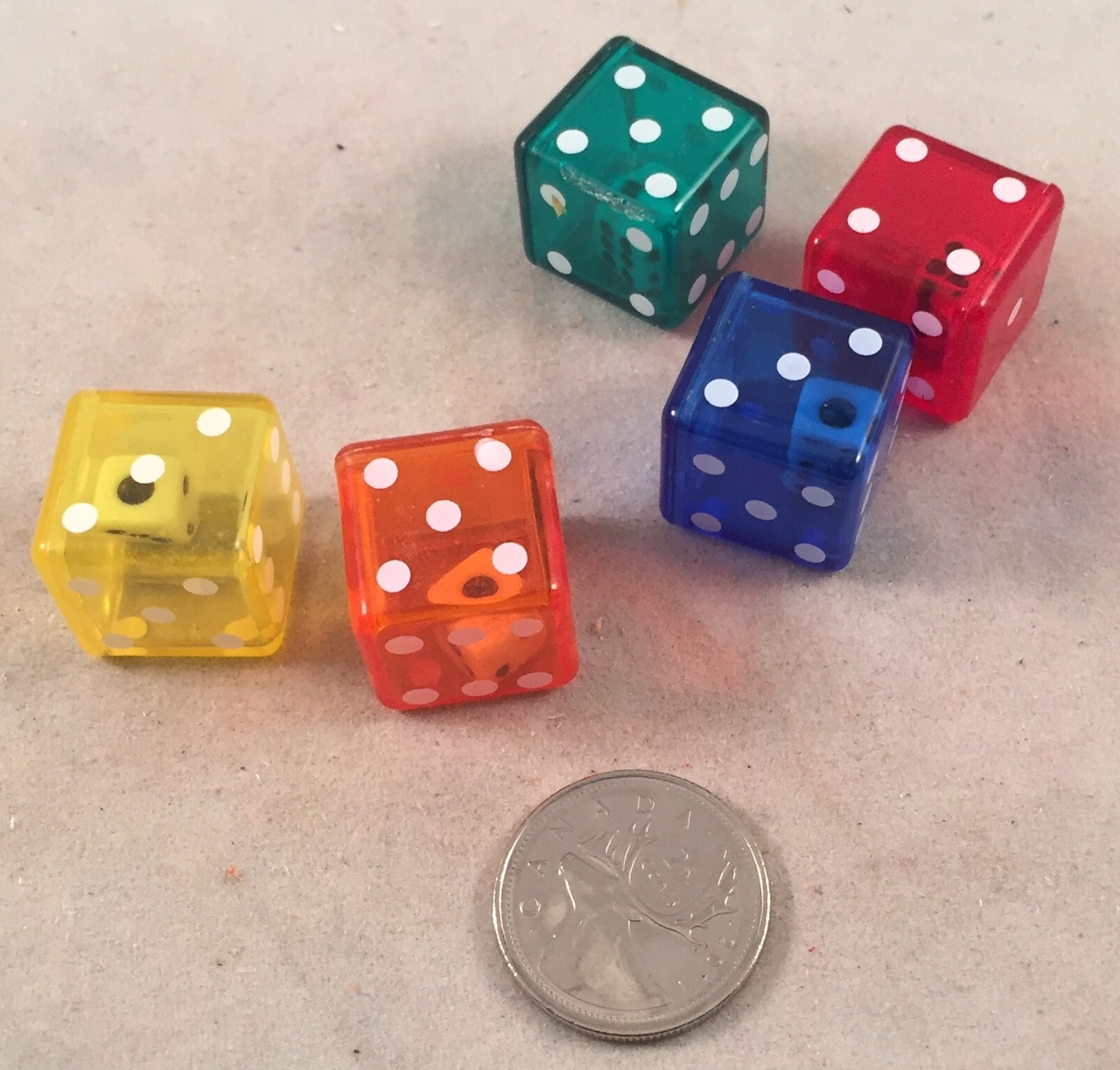 Double Dice Footer - 3/4