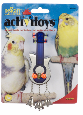 Guitar - Small Bird Toy