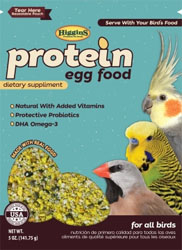 Protein Egg Food - Higgins Snack Attack - 5oz Snack Size