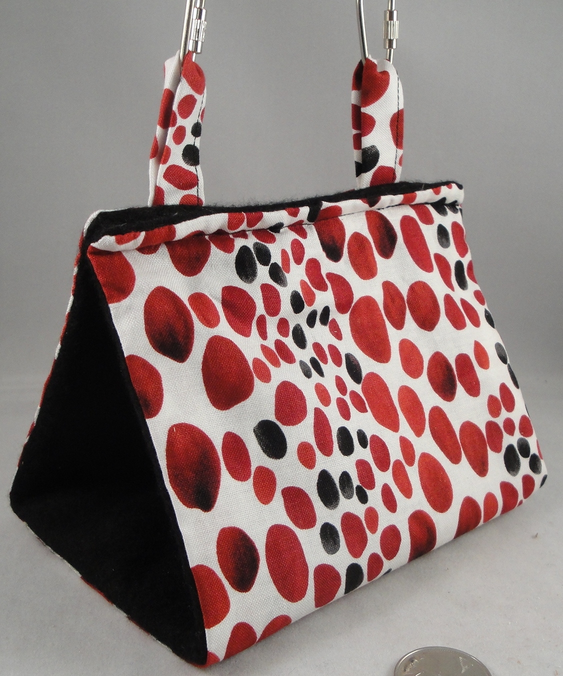 Red and Black Spots - Small