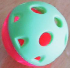 Extra Large Sokker Rattle Ball 3-1/3