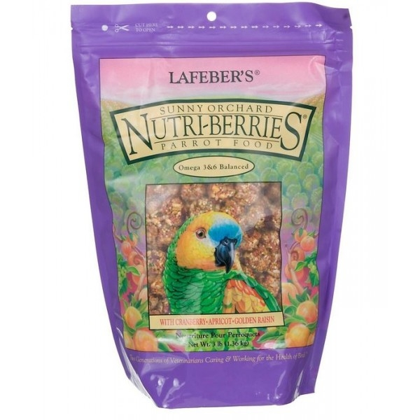 Sunny Orchard Nutri-Berries - Parrot - 10oz