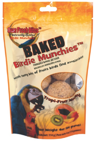 Birdie Munchies - Tropi-Fruit - 4oz