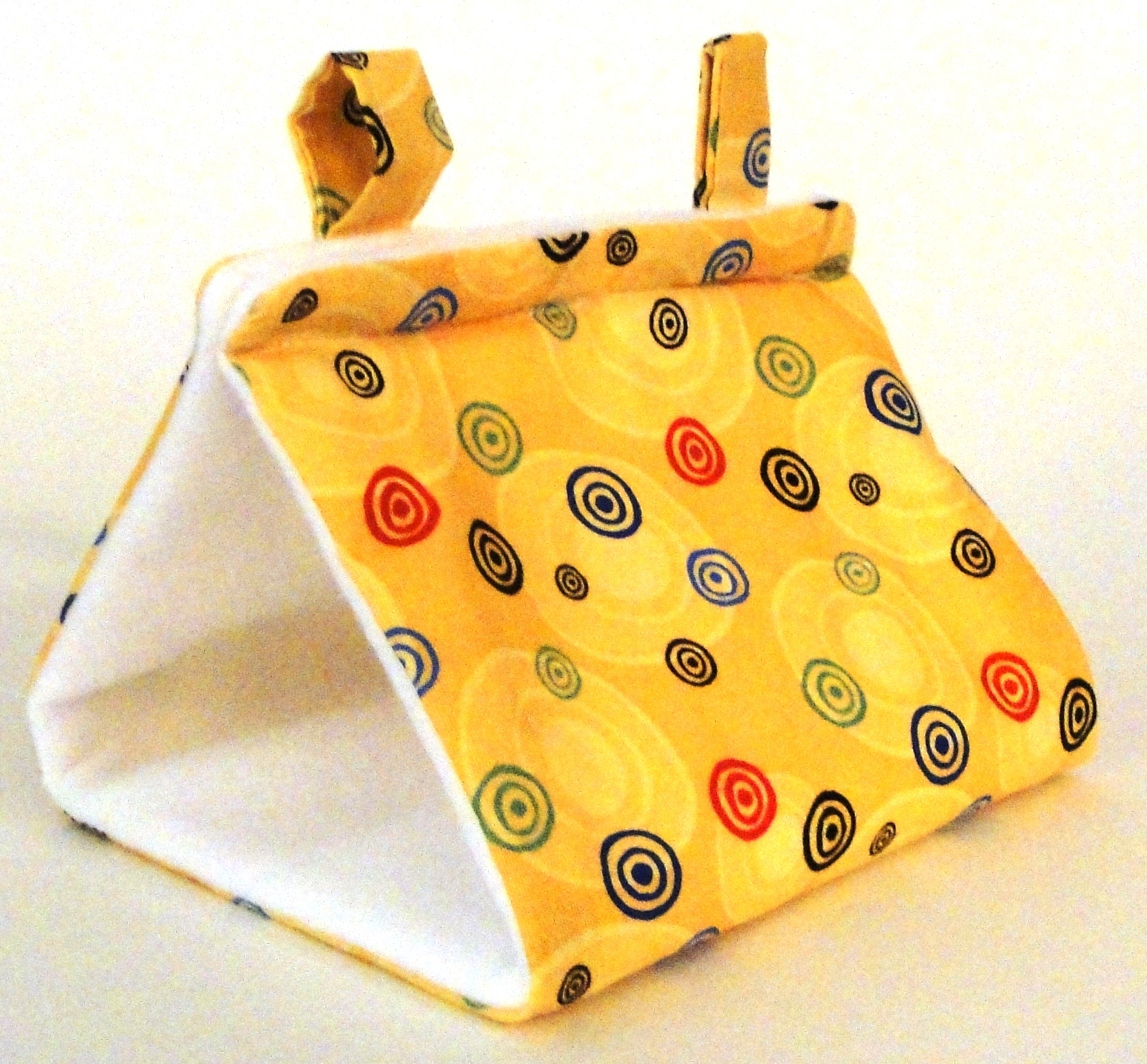 Yellow Swirls Tent - Small