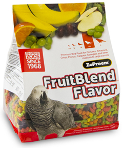 Zupreem FruitBlend - Medium/ Large - Parrot - 2lb