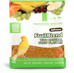 Zupreem FruitBlend - X-Small - Finch/ Canary - .875lb