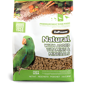 Zupreem Natural - Medium/ Large - 3lb