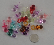 Small Pacifiers - 12x22mm - 25pc