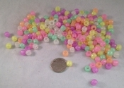Pony Beads - Glow-in-the Dark - 200pc