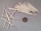 Mini Pick-Up Sticks - Natural - 50pc - 3