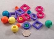 Mixed Marbella Rings and Beads - Small - 20pc