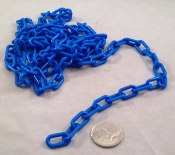 Plastic Chain - Blue - 3/4