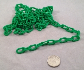 Plastic Chain - Green - 3/4