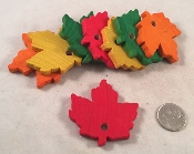 Maple Leaves - Coloured - 2-1/4