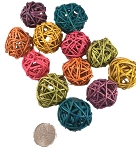 Vine Balls - Coloured - 1.25