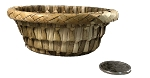 Woven Palm Bowl - Natural - 1pc
