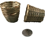 Mini Planter Baskets - 2in - 3pc