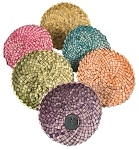 Palm Doilies - Coloured - 4