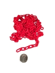 Plastic Chain - Red - 3/4