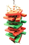 Blixem's Big Boy Rainbow Balsa Sticky Stacker - Medium size