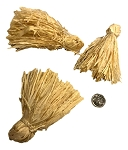 Hunky Corn Tassels - Natural - 3pc