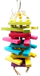 Big Boy Rainbow Balsa Sticky Stacker - Medium size