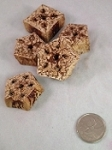 Mahogany Slices - Munch Bits - 1lb - BULK