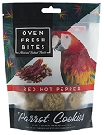 Oven Fresh Bites - Parrot Cookies - Red Hot Pepper - 4oz - NEW!