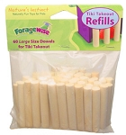 Tiki Takeout / House of Treats - Refill Large Dowels - Foragewise