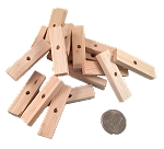 Balsa Slices - Natural - 2