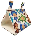 Monkeys - Blue Boyish Tent - Small