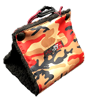 Daba Doo Tent - Camo Red - Mini - Size 1