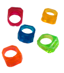 Chunky Rings - 6pc - 1