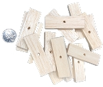 Balsa Slices - Natural - 2-1/2