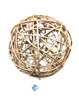 MONSTER Rattan Ball - Natural - 8