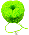 Polly Rope - Green - 10ft