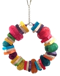Lovin' the Loofa Rainbow Wreath