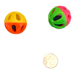 Mini Two-Tone Rattle Ball