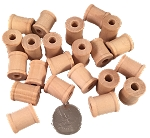 Wooden Spools - Natural - 3/4