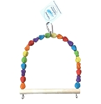 Rainbow Pebble Swing