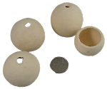 Pod Cups - Small - Natural - 1 to 1-1/2
