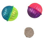 Two-Tone Rattle Ball - no holes