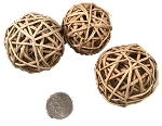 Wicker Balls - Natural - 2