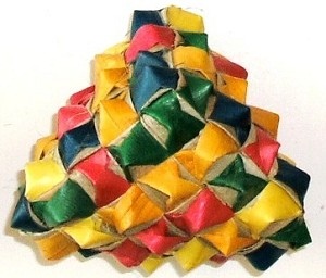 Planet Pleasures - Woven Diamond Foot Toy - Large