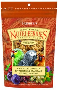 Senior Bird Nutri-Berries - Parrot - 10oz