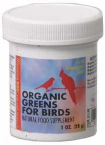 Organic Greens Supplement - Morning Bird - 1oz